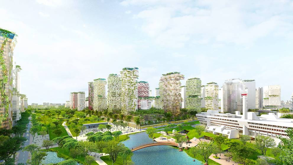Jurong lake district to create more than 100 000 jobs for Modern homes jobs